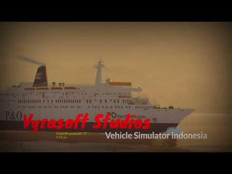 Vehicle simulator P&O ferry