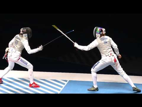 World Team Fencing Championships 2016 Rio - Women's Foil  Gold match ITA vs RUS