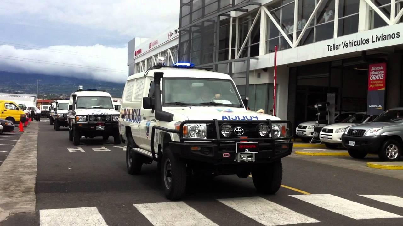 toyota land cruiser patrullas en costa rica arb youtube
