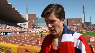 IAAF World U20 Tampere - Jakob Ingebrigtsen NOR 5000 Metres Bronze