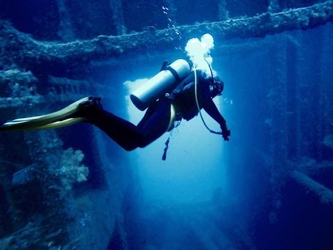 Diving the SS President Coolidge