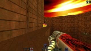 Quake II - Thresh on Q2DM1 (The Edge)
