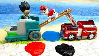 Мультики про машинки - мультики для детей с игрушками Щенячий Патруль и Суперклей!