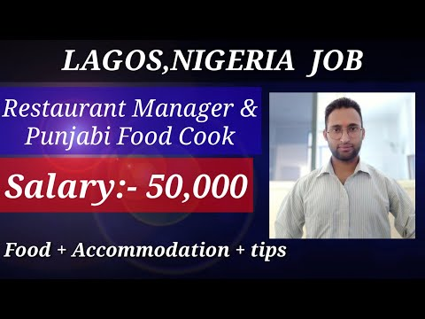 Nigeria work permit || Lagos,Nigeria job vacancy || Lagos work permit visa || Lagos job for Indian