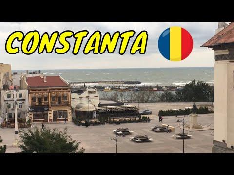 Constanta Romania 2018 City Break Tour Town Travel Video Guide