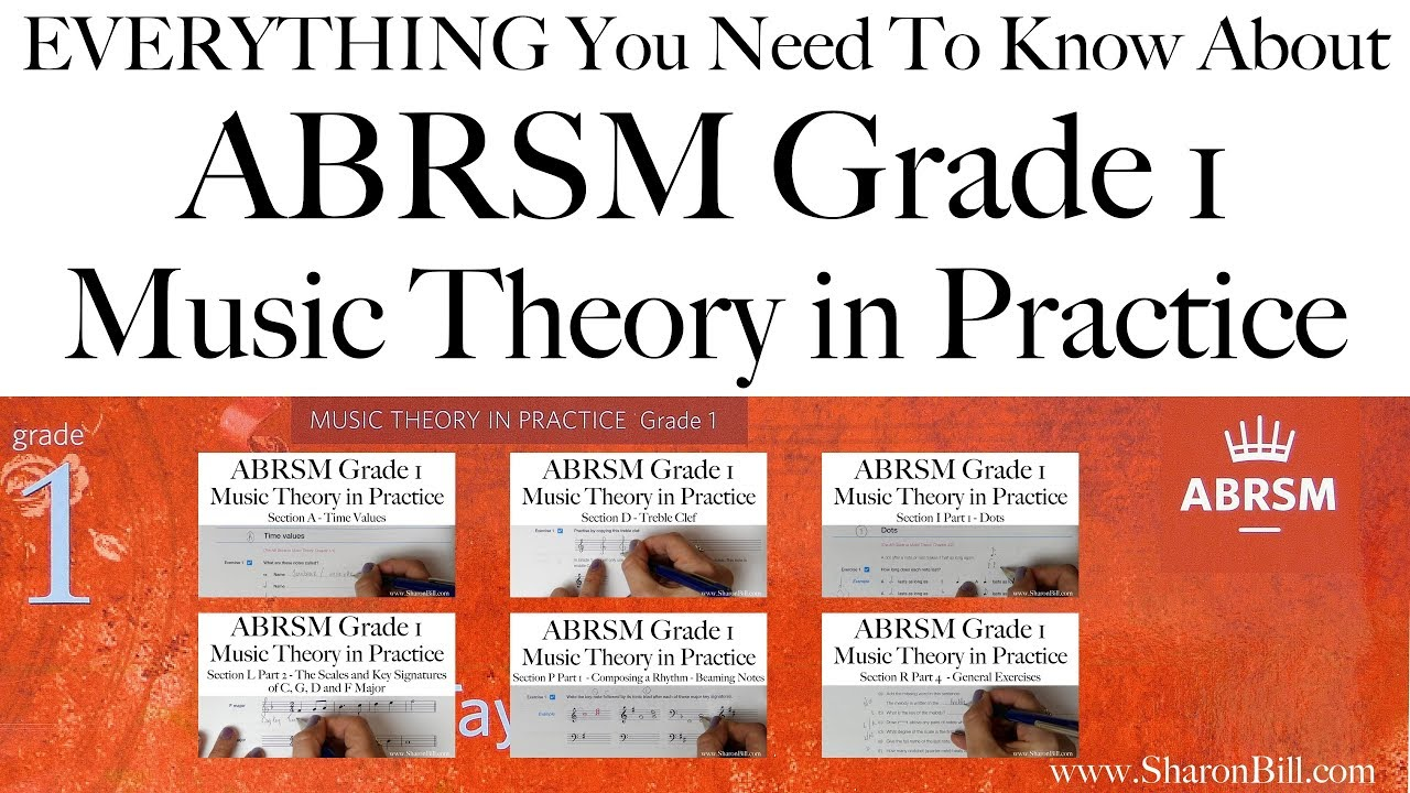 Workbooks music in theory and practice workbook : Everything you need to know about ABRSM Grade 1 Music Theory with ...