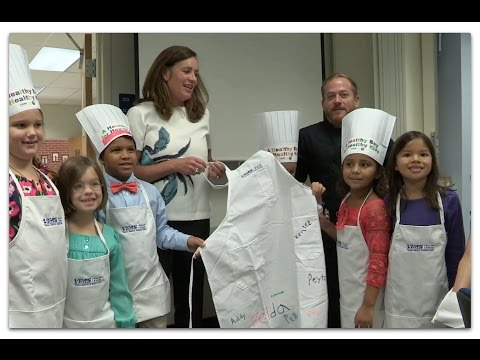 Va.'s First Lady helps celebrate A Healthy Bay for Healthy Kids
