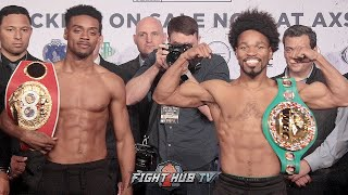 errol-spence-jr-vs-shawn-porter-full-weigh-in-face-off-video