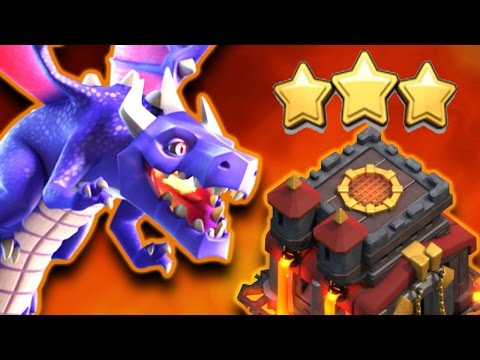 Best Dragon Attack Strategy TH10 + TH11 3 Stars | WD#21 | Clash of Clans