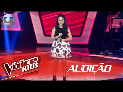 Valentina Francisco canta 'Rock and Roll' na Audição – The Voice Kids Brasil | 2ª Temporada