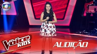 Valentina Francisco canta 'Rock and Roll' na Audição – The Voice Kids Brasil | 2ª Temporada