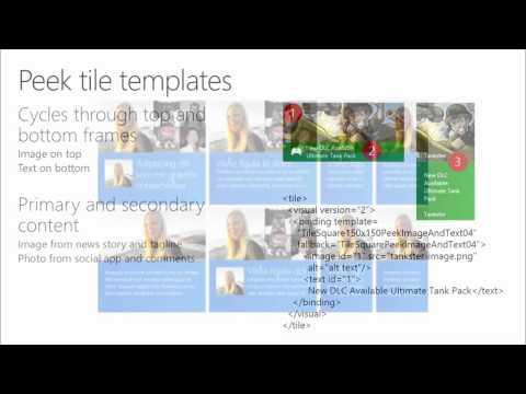 Windows 8.1 UX Design, 10 Start, Tiles, Notifications, and Lock Screen