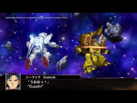 PS4, PS Vita | Super Robot Wars X - First Announcement PV