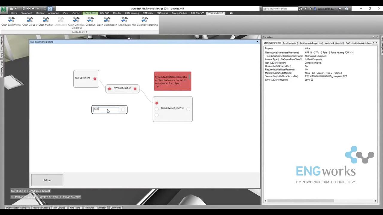 ENGworks - Apps for Navisworks