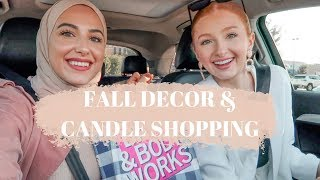 Come Shopping with Us | Fall Decor Shopping and Candle Haul