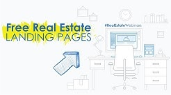 How to make free landing pages for real estate leads