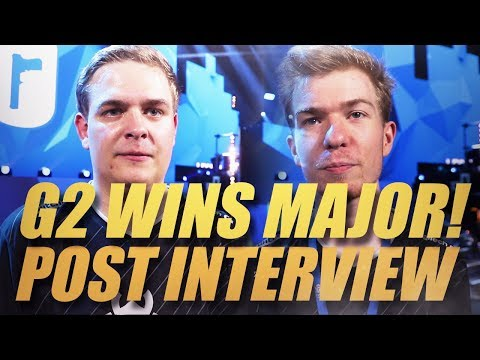 """Pengu: """"We came way more prepared than they were""""   Post Interview Six Major Paris winner G2 Esports"""