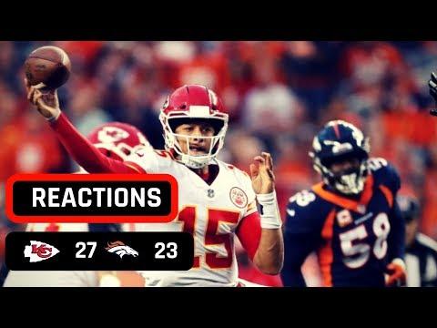 Kansas City Chiefs vs Denver Broncos Monday Night Football Week 4 Recap | MAHOMES MAGIC!