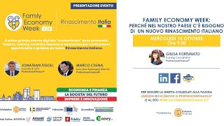 Family Economy Week: l'evento a chisura del mese dell'Educazione Finanziaria