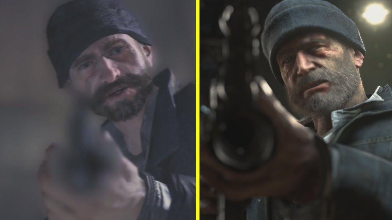 Call of Duty Modern Warfare 2 Remastered vs Original 4K Graphics Comparison (PS4 Pro vs PS3)