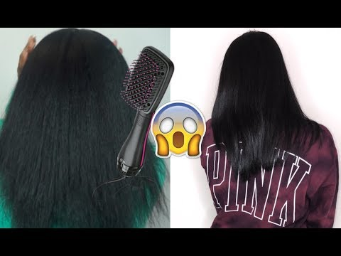 THIS $30 BLOW DRYER JUST CHANGED MY LIFE!   Revlon One-Step HairDryer Review + Demo