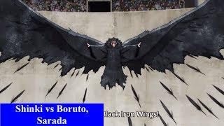 Diễn biến Boruto tập 61: Boruto kết hợp Sarada vs Shinki. Review spoiler tập 62