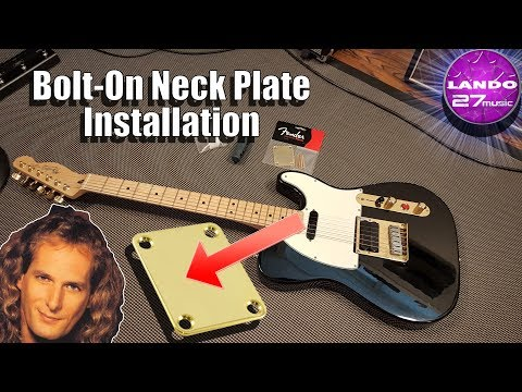 Why don't all Fenders have engraved neck plates ? Fender F Logo Neckplate from YouTube · Duration:  2 minutes 27 seconds