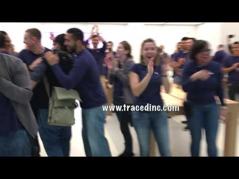 Apple Store Grand Re Opening Menlow Park Mall Edison New Jersey NJ