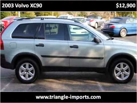 2003 Volvo XC90 available from Triangle Imports