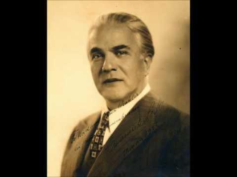 Emanuel List sings Andreas Hofer by Leopold Knebelsberger
