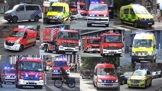 [Horn/Alarm/Bijna ongeval] Pompiers IILE SRI Liège 15.6/16.6 (collection)