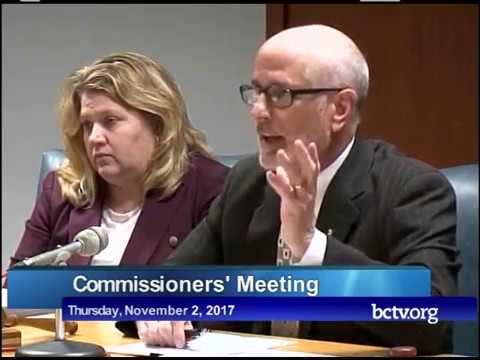 County of Berks Commissioners Board Meeting  11-2-17