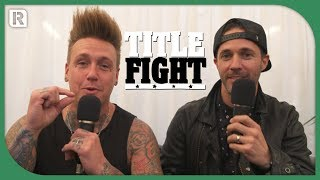 How Many Papa Roach Songs Can Jacoby Shaddix & Jerry Horton Name In 1 Minute? - Title Fight