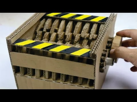 How to Make SHREDDER From Cardboard DIY