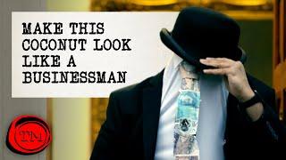 Make this Coconut Look Like a Businessman | Full Task | Taskmaster