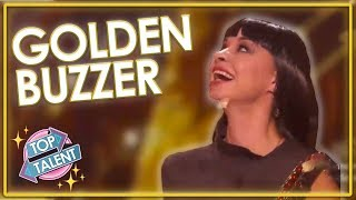 GOLDEN BUZZER | MOVING Sand Art On AGT: The Champions 2019! | Top Talent