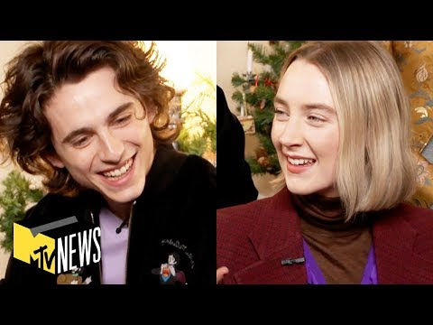 'Little Women' Cast on Working w/ Meryl Streep & Bonding on Set 👩  MTV News