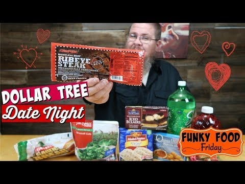 Funky Food Friday || $10 Valentine's Dinner from Dollar Tree?!