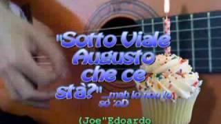 """""""Sotto viale Augusto che ce stà""""play by Fabio P.Live"""