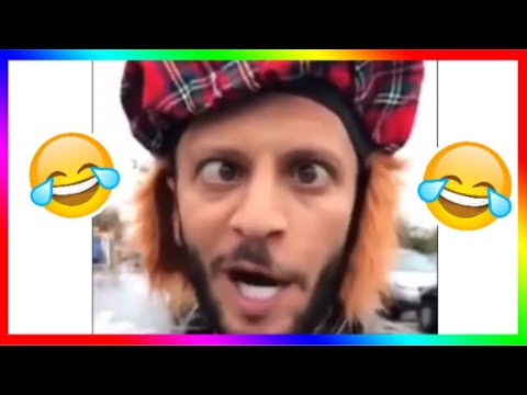 Angry Scotsman kicks off in public. Funniest video I've ever watched