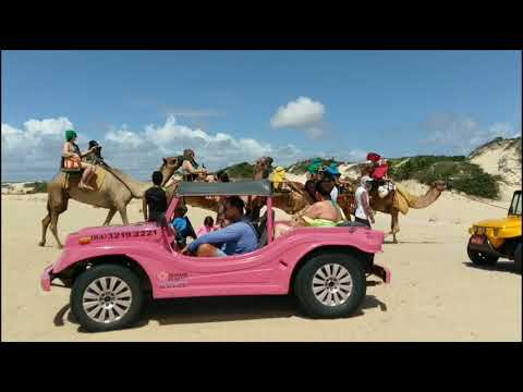Genipabu Dunes and buggy ride, Natal, Brazil