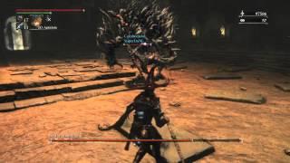 Bloodborne | Bestia abominable | Final boss, Caliz de Loran. Cooperativo
