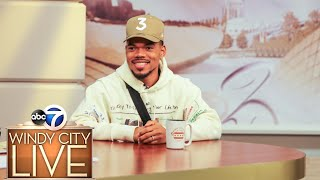 "Chance the Rapper dishes on life with 2 kids, show ""Rhythm and Flow"""