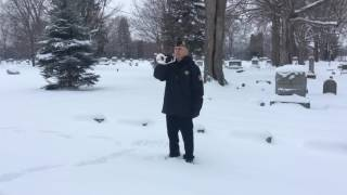 James J. Kulas-Bugler, Funeral Service - Courtesy of the Jackson County American Legion Ritual Team