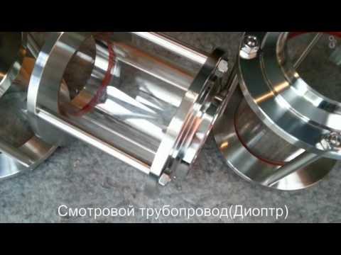 Смотровое стекло трубопровода Диоптр