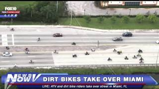 FNN: Dirt Bikes and ATVs Take Over Miami Streets
