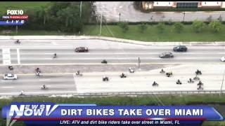 FNN: Dirt Bikes and ATVs Take Over Miami Streets