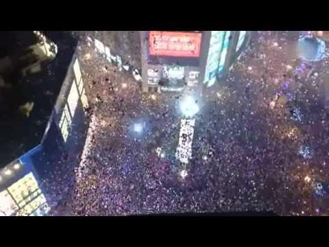 the New Year bell of chongqing Jiefangbei