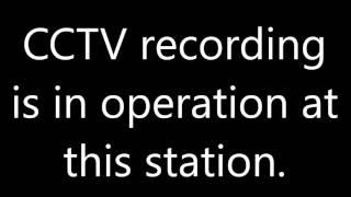 Cambridge Station announcements
