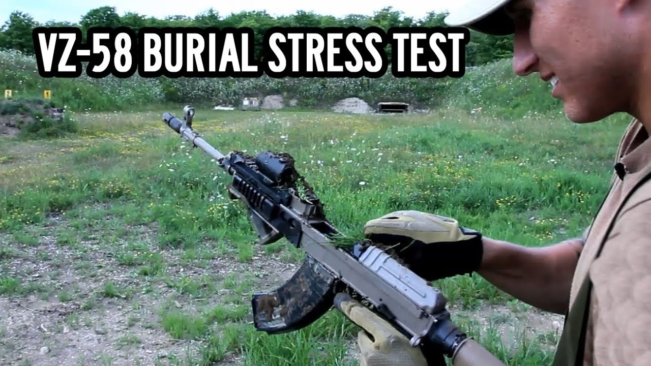 Vz 58 burial stress test giveaway youtube pooptronica Images